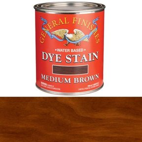 Water Based Dye Medium Brown Quart