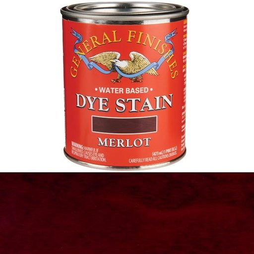 View a Larger Image of Water Based Dye Merlot Pint