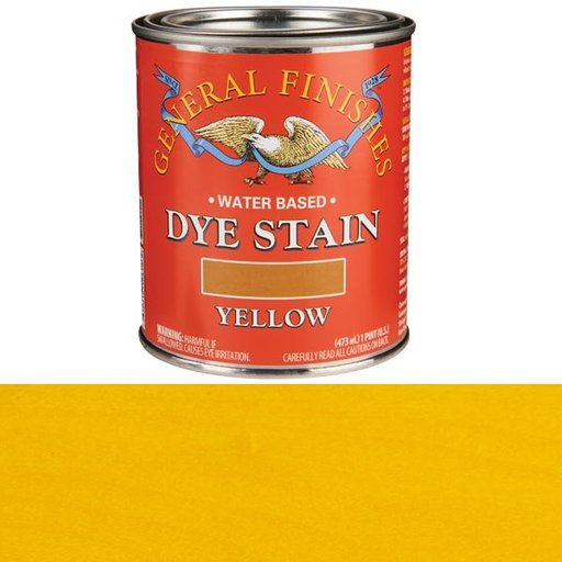 View a Larger Image of Water Based Dye Yellow Pint