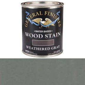 Water Based Wood Stain, Weathered Gray Qt