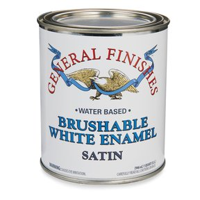 General Finishes White Enamel Satin Quart