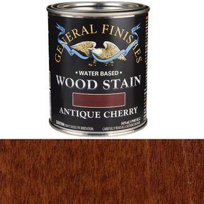 Wood Stain, Water Based, Antique Cherry Stain, Pint