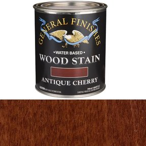 Wood Stain, Water Based, Antique Cherry Stain, Quart