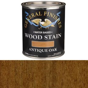 Wood Stain, Water Based, Antique Oak Stain, Quart