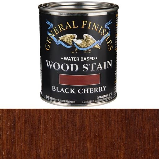 View a Larger Image of Wood Stain, Water Based, Black Cherry Stain, Pint