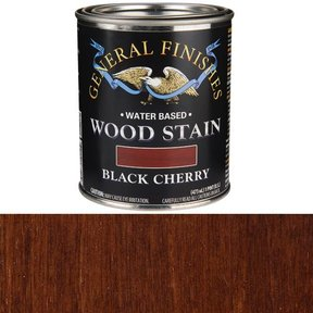 Wood Stain, Water Based, Black Cherry Stain, Pint
