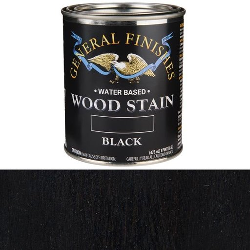 View a Larger Image of Black Stain Water Based Pint