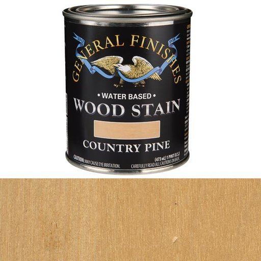 View a Larger Image of Wood Stain, Water Based, Country Pine Stain, Pint