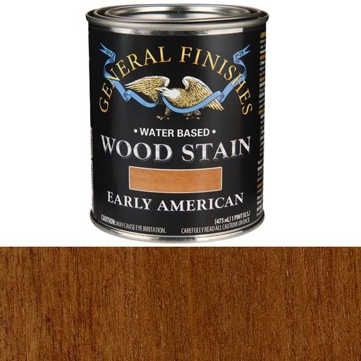 View a Larger Image of Wood Stain, Water Based, Early American Stain, Pint