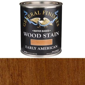 Wood Stain, Water Based, Early American Stain, Quart