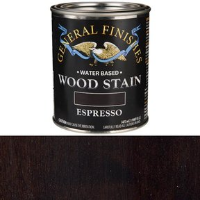 Wood Stain, Water Based, Espresso Stain, Pint