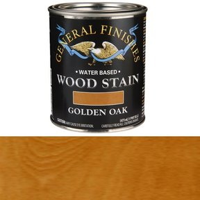Wood Stain, Water Based, Golden Oak Stain, Pint