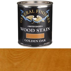 Wood Stain, Water Based, Golden Oak Stain, Quart