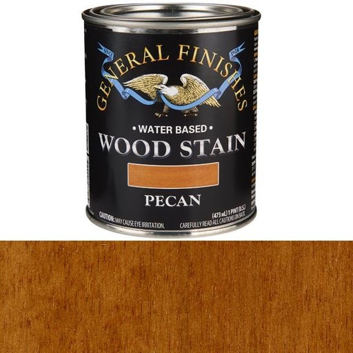 View a Larger Image of Wood Stain, Water Based, Pecan Stain, Pint