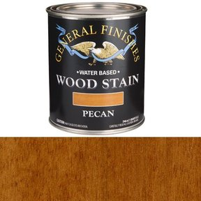 Wood Stain, Water Based, Pecan Stain, Quart