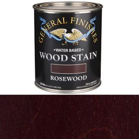 Wood Stain, Water Based, Rosewood Stain, Quart