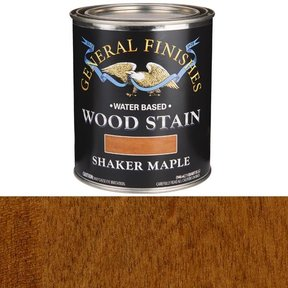 Wood Stain, Water Based, Shaker Maple Stain, Quart