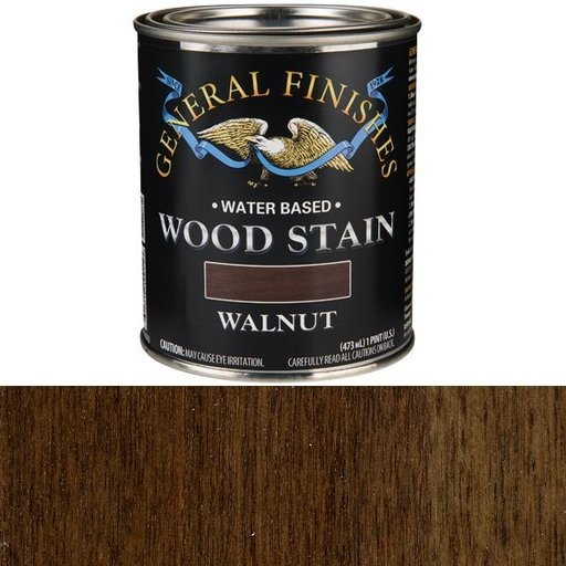 View a Larger Image of Walnut Stain Water Based Pint