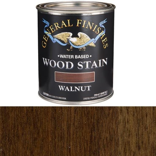 View a Larger Image of Walnut Stain Water Based Quart
