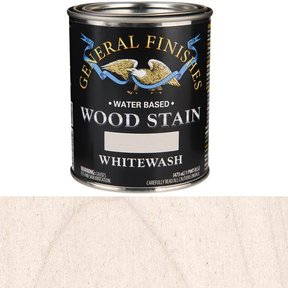 Wood Stain, Water Based, Whitewash Stain, Pint