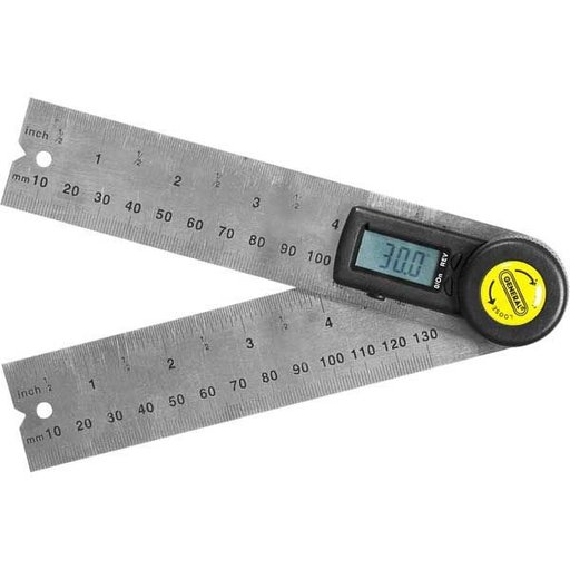 "View a Larger Image of 5"" Digital Angle Finder with Rules, Model 822"