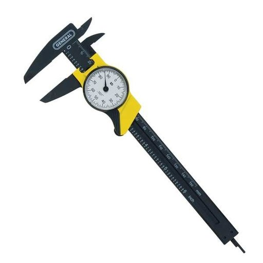 "View a Larger Image of 6"" Plastic Dial Caliper, Model 145"