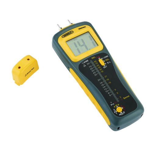 View a Larger Image of Pin/Pinless Moisture Meter Model MMD900