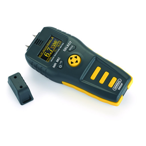 View a Larger Image of Pin Style Precision Multi-Species Wood Moisture Meter MMD8P