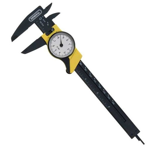 View a Larger Image of Plastic Dial Caliper, Model 144MM