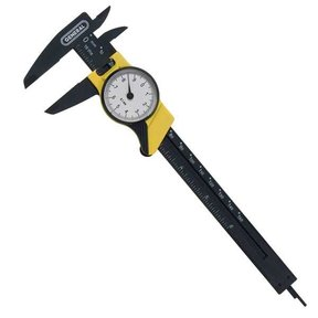 Plastic Dial Caliper, Model 144MM
