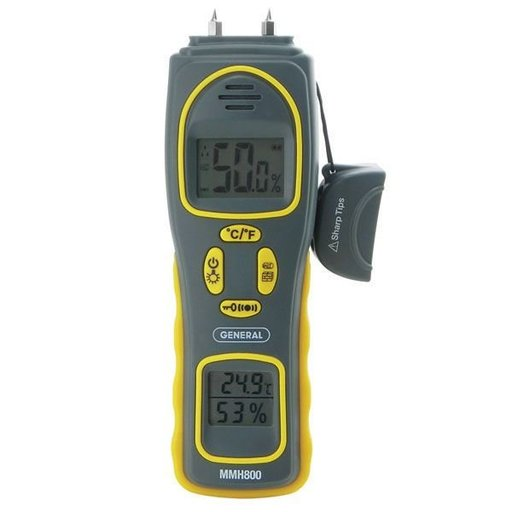 View a Larger Image of Relative Humidity Moisture Meter, Model MMH800