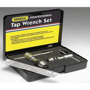 Reversible Ratcheting Tap Wrench Set, Model 165
