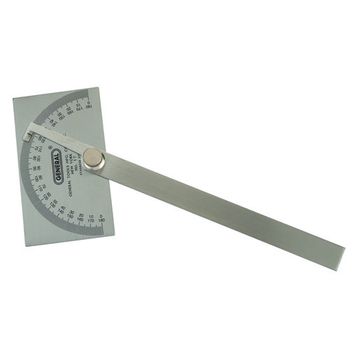 View a Larger Image of Square Head Protractor