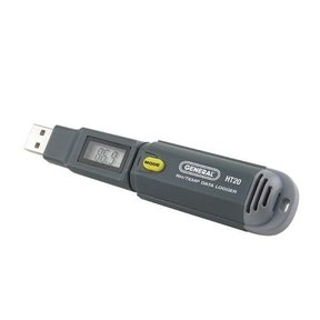 Temperature and Humidity Data Logger, Model HT20