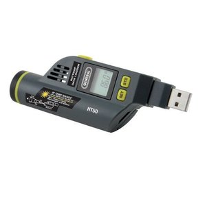 Temperature and Humidity Data Logger, Model HT50