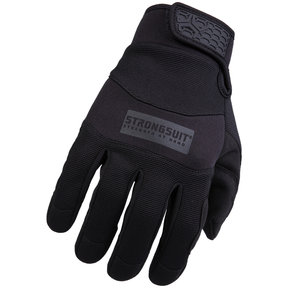 General Utility Mens Gloves, Black, Large