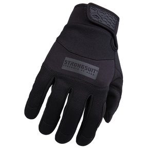 General Utility Plus Mens Gloves, Black, Large