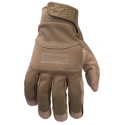 View a Larger Image of General Utility Plus Mens Gloves, Coyote, Medium