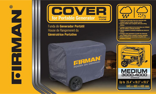 View a Larger Image of  Generator Cover - Medium 3000- 4000 Watts