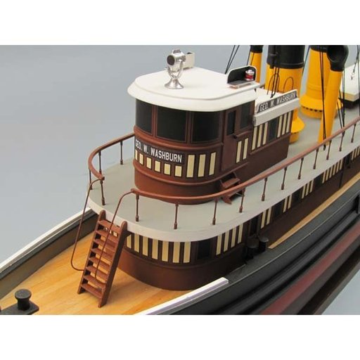 View a Larger Image of George W. Washburn Tug Boat Kit
