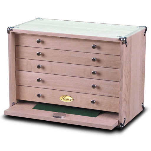 View a Larger Image of 1605-KIT 5 Drawer Oak DIY Chest Kit