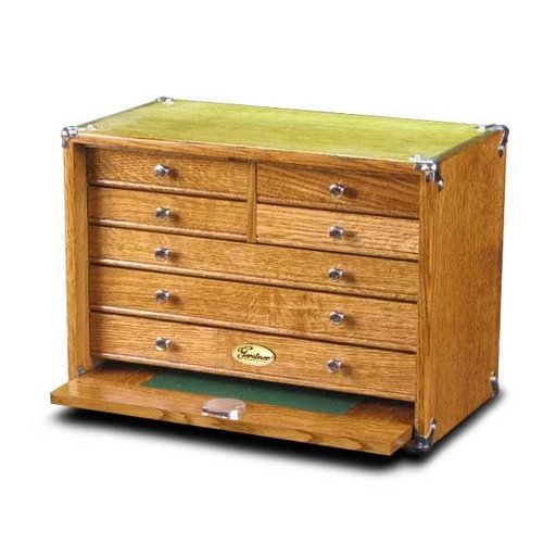 View a Larger Image of 1607-KIT 7 Drawer Oak DIY Chest Kit