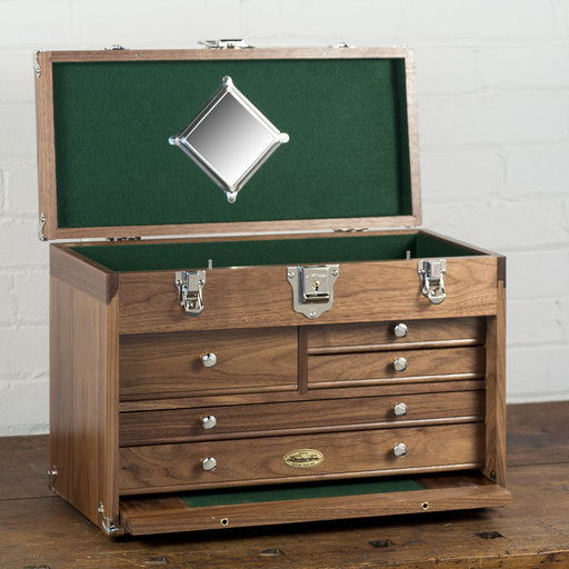 View a Larger Image of W1805 Natural Walnut Special Chest