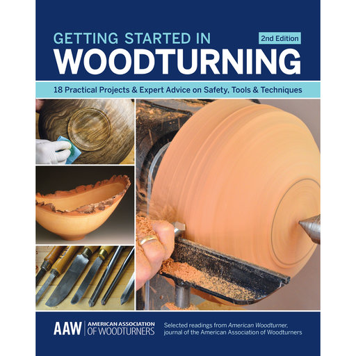View a Larger Image of Getting Started in Woodturning
