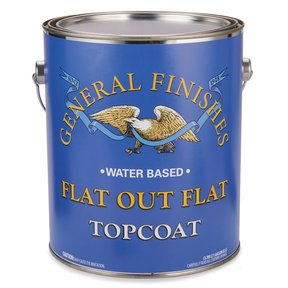 Flat-Out-Flat Varnish Water Based Gallon