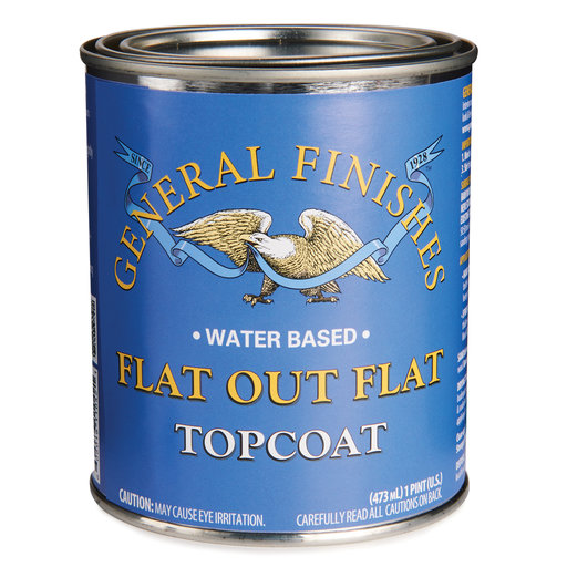 View a Larger Image of GF Flat Out Flat WB Topcoat Pt