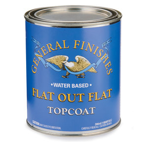 Flat-Out-Flat Varnish Water Based Quart