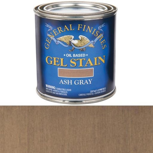 View a Larger Image of Gel Stain Ash Gray 1/2Pt