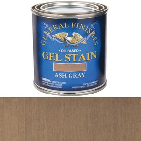 Gel Stain Ash Gray 1/2Pt