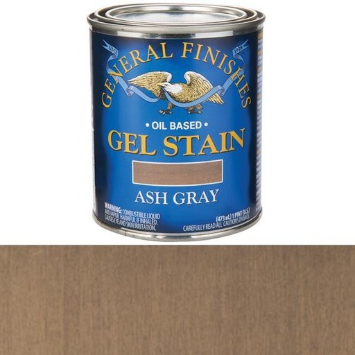 View a Larger Image of Gel Stain Ash Gray Pt